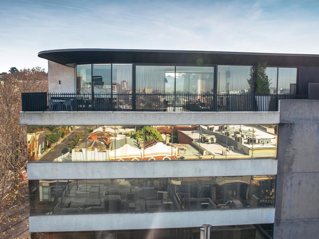 Pandolfini Architects Caroline St Rooftop Apartment